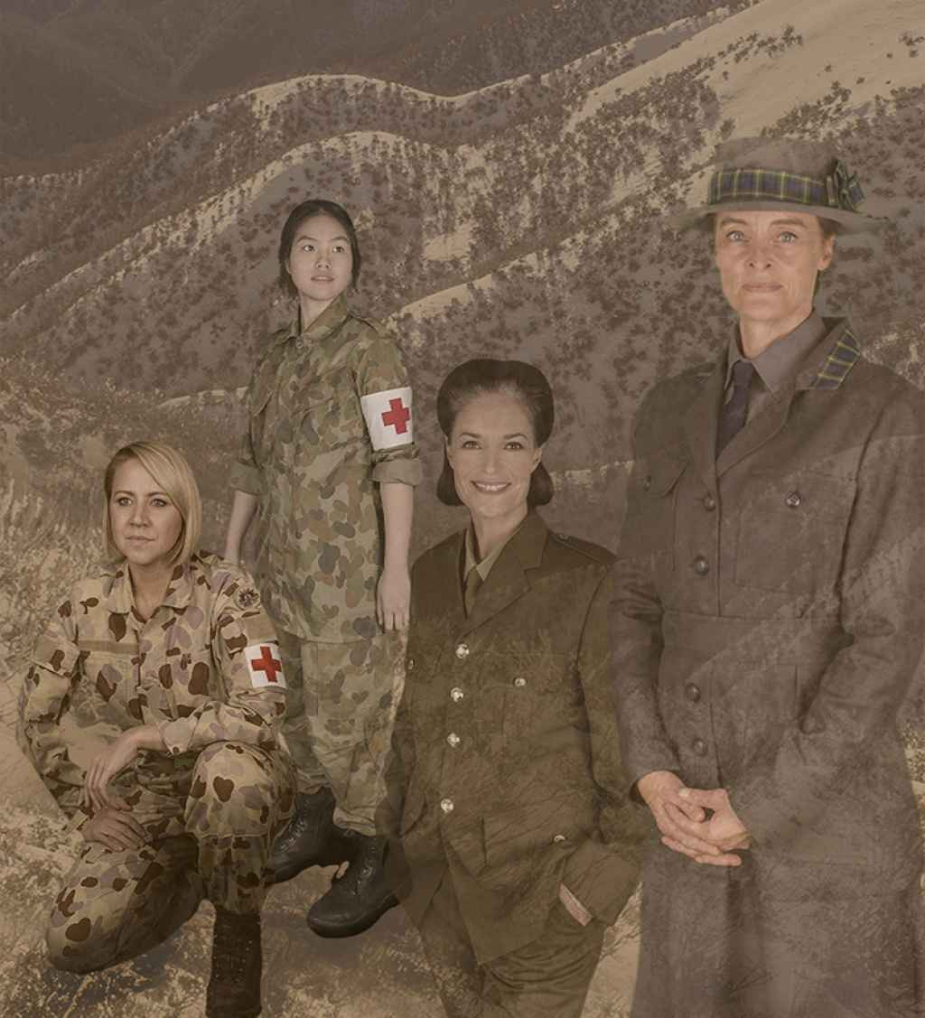 Riverlinks and The Shift Theatre present Hallowed Ground - Women Doctors in War