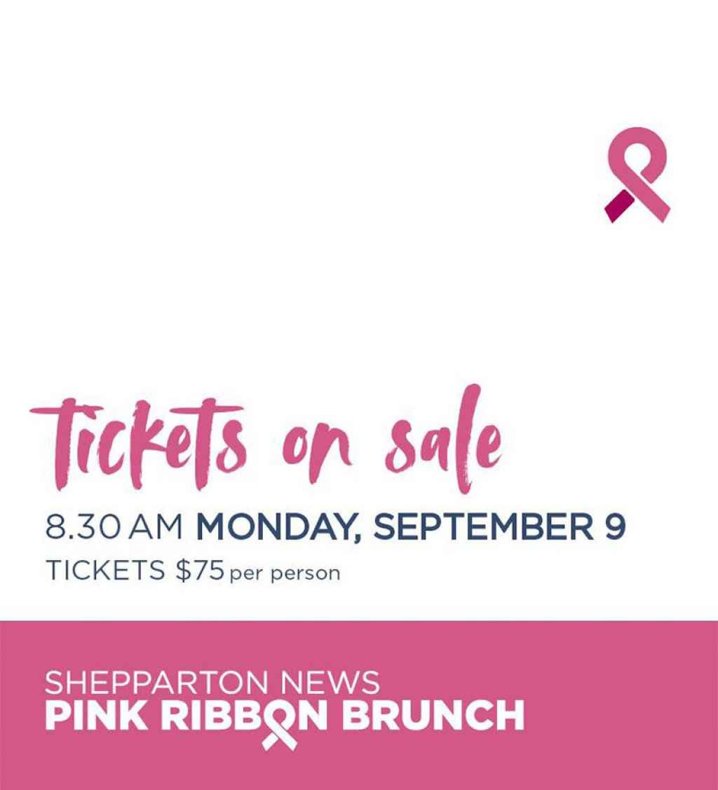 Shepparton News Pink Ribbon Brunch