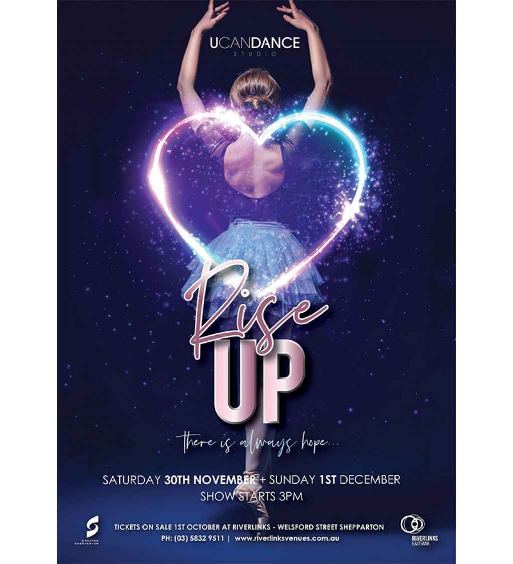 "U Can Dance Studio presents Rise Up - ""There Is Always Hope"""