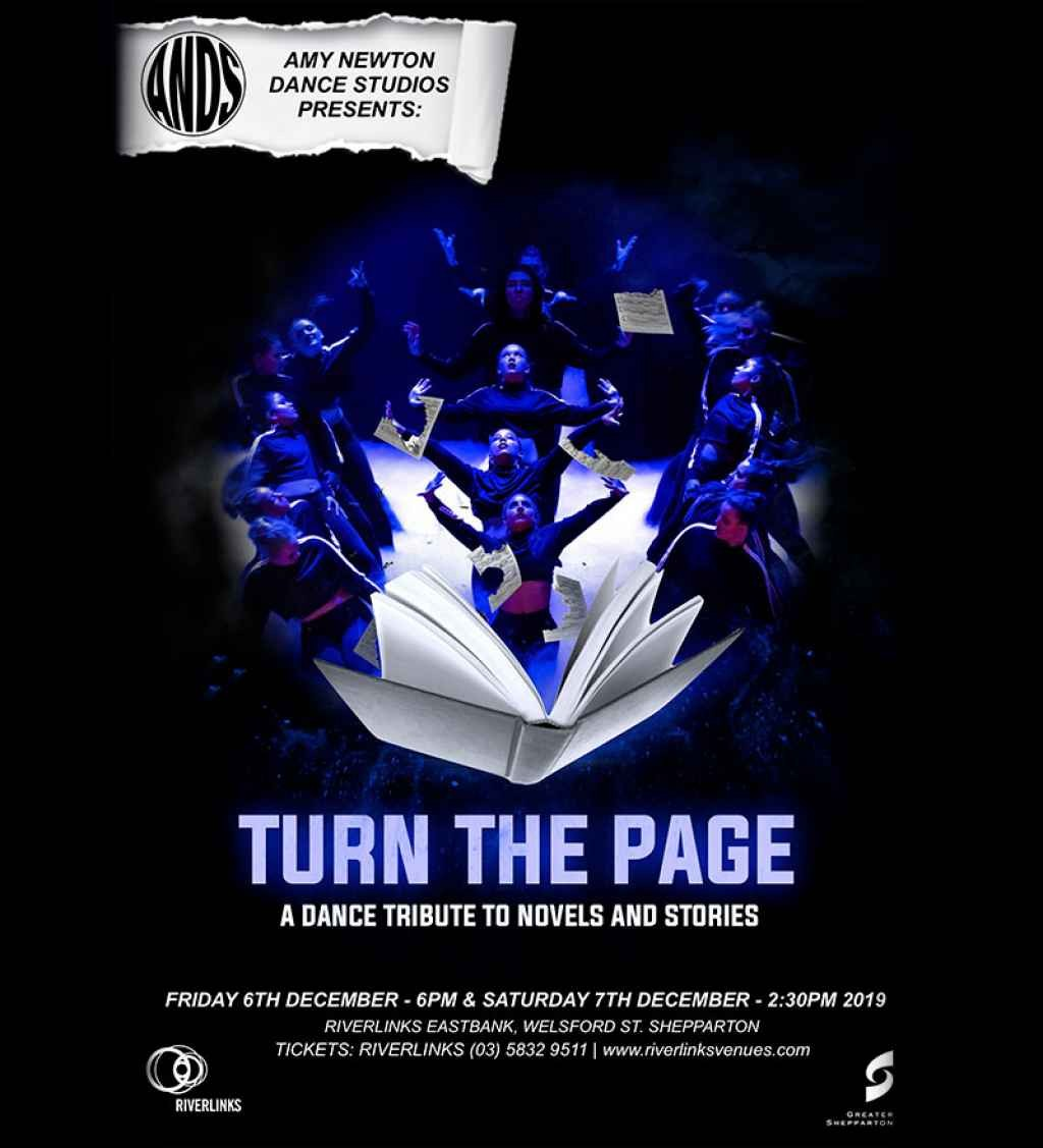 Amy Newton Dance Studios presents Turn the Page