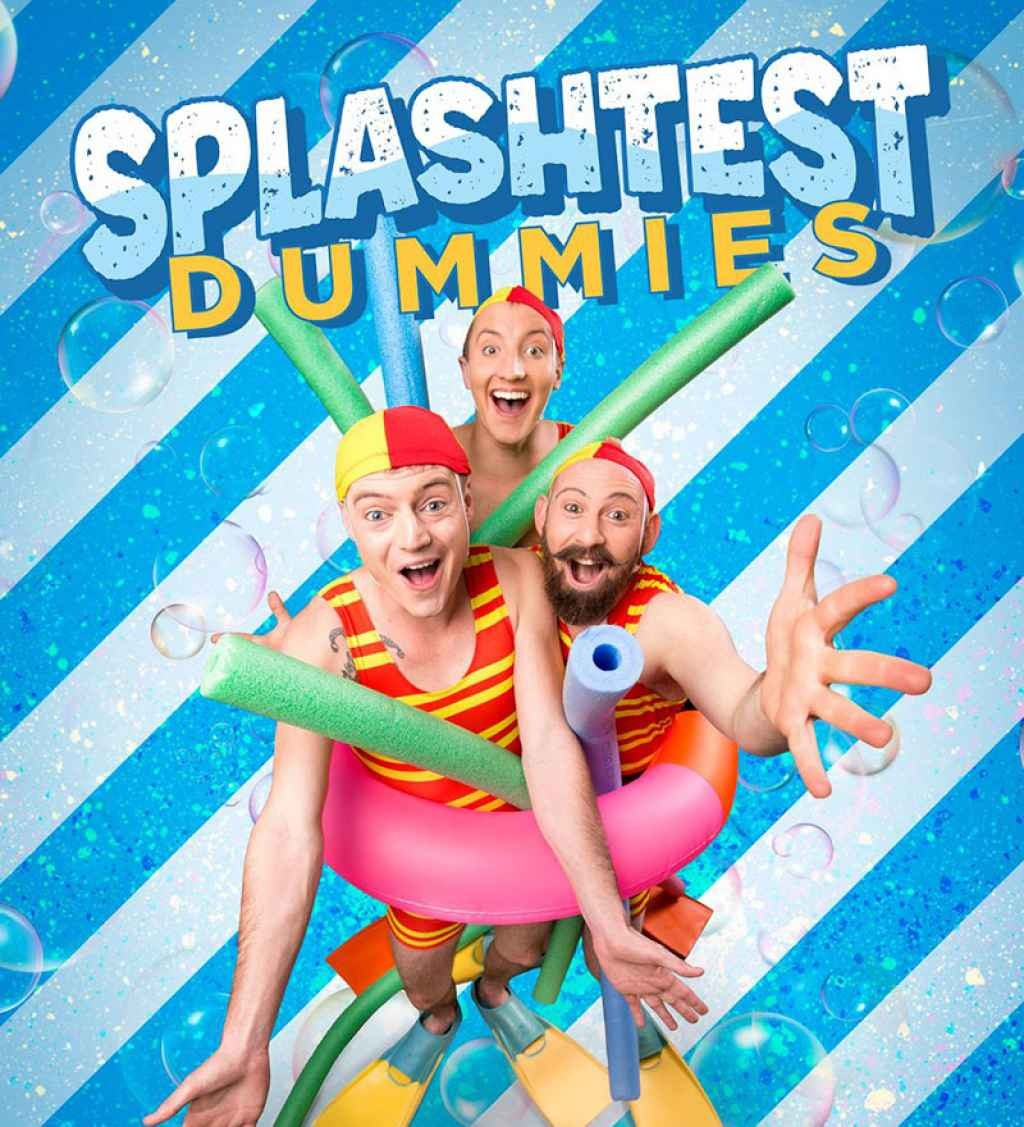 Riverlinks and Regional Arts Victoria present Splash Test Dummies -- Part of the 2020 Family Series