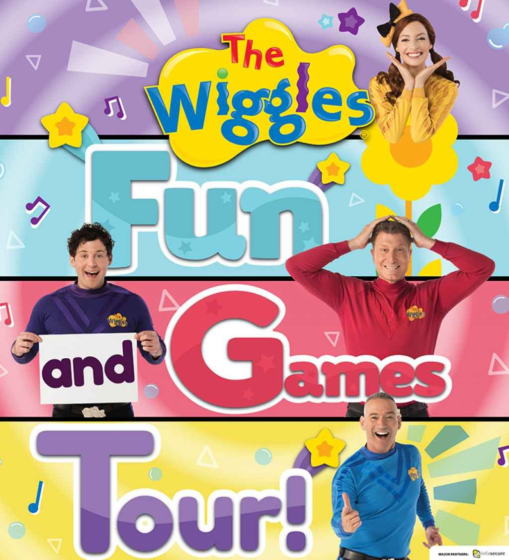 The Wiggles presents the wiggles fun and games tour!