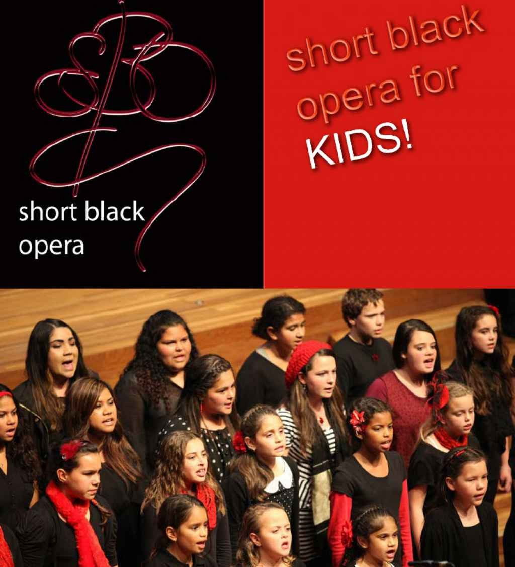 Rumbalara Football Netball Club presents Short Black Opera for Kids -- Proudly Sponsored by Riverlinks and Greater Shepparton City Council