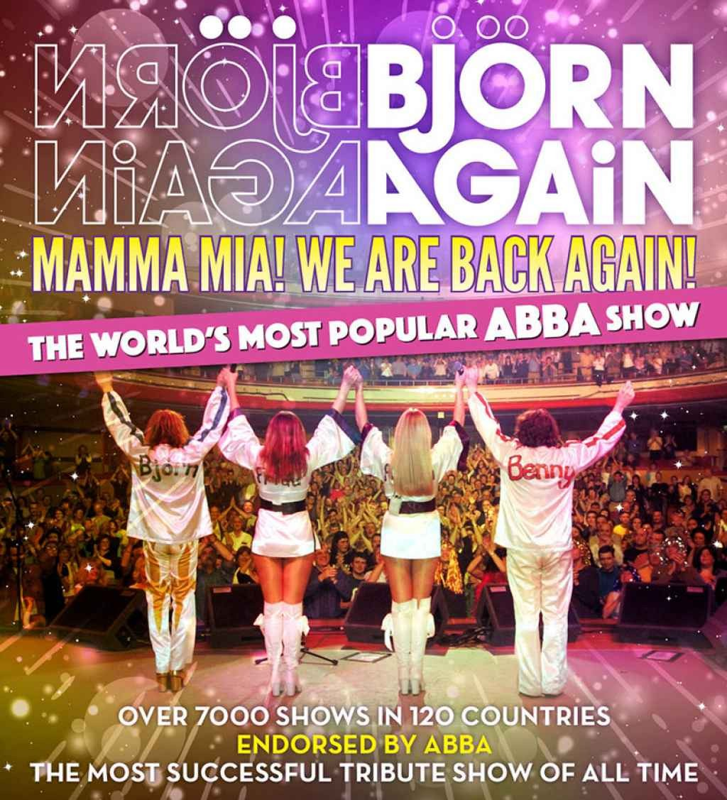 The Music Group presents Bjorn Again - Mamma Mia! We Are Back Again Tour 2021
