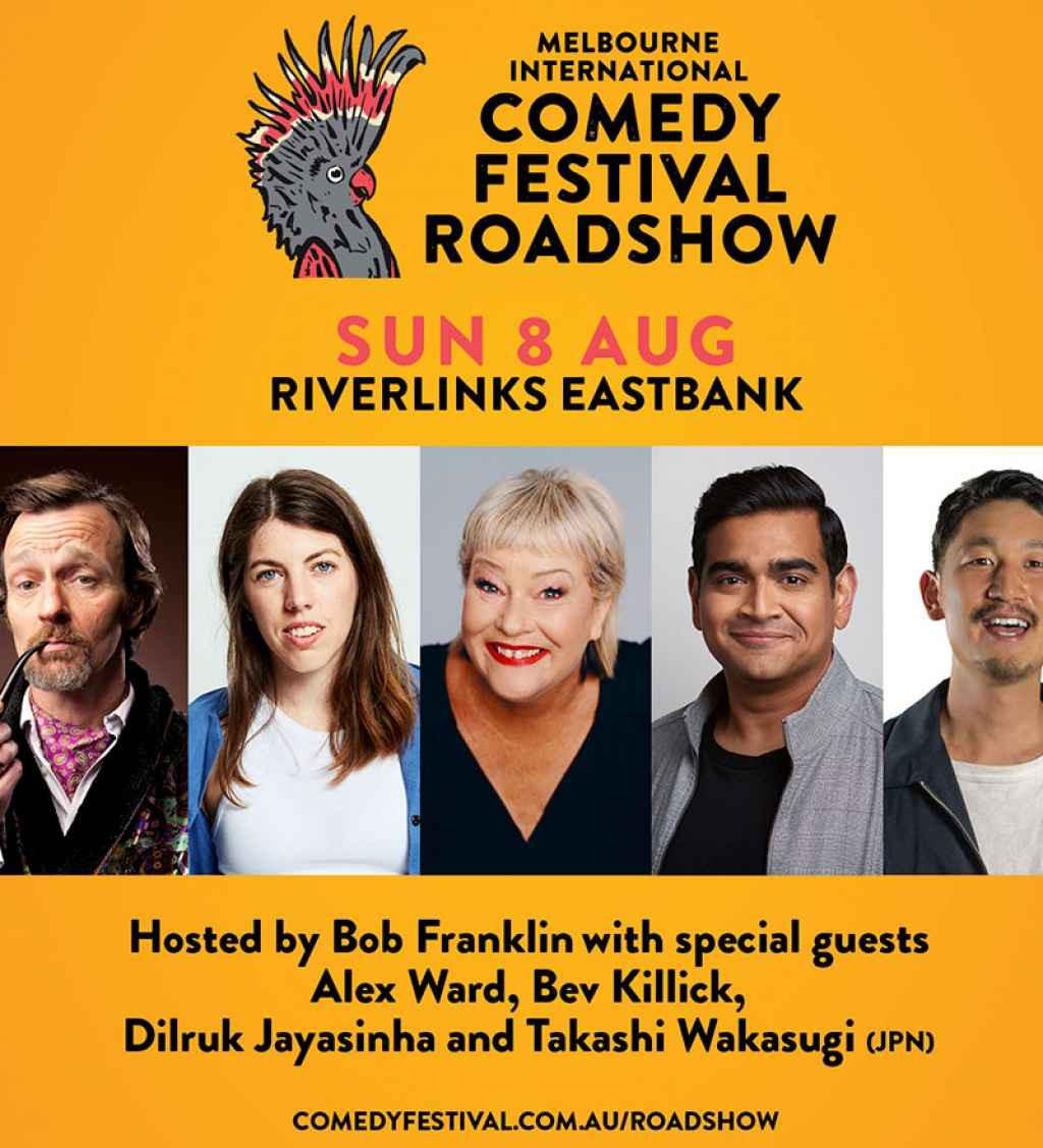 CANCELLED: Riverlinks and Melbourne International Comedy Festival present Melbourne International Comedy Festival Roadshow