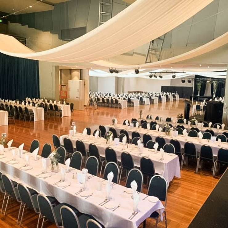 Eastbank - Auditorium - Debutante Ball Setup