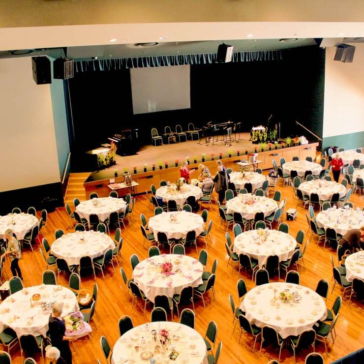 Eastbank - Auditorium - Function Setup