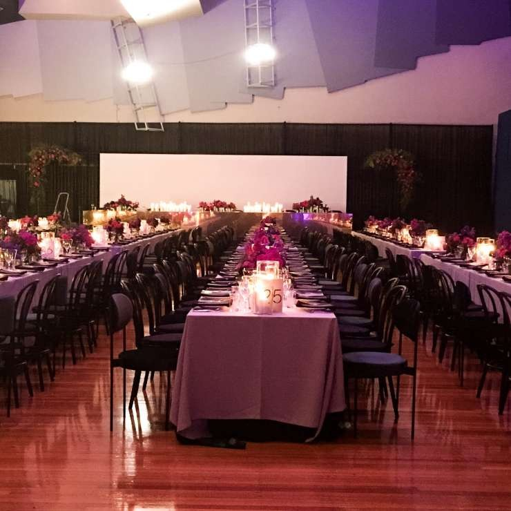 Eastbank - Auditorium - Wedding Setup