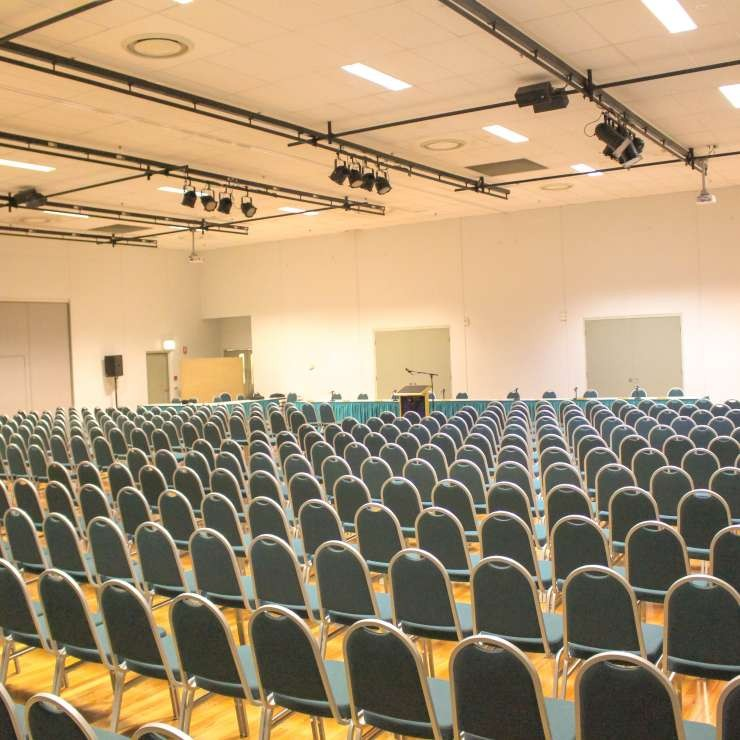 Eastbank - Function Room 1 and 2 - Theatre Style Seating